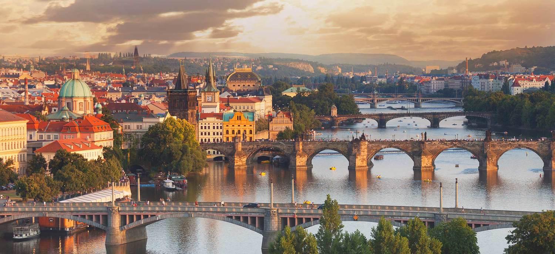 Daytime Prague Czech Republic